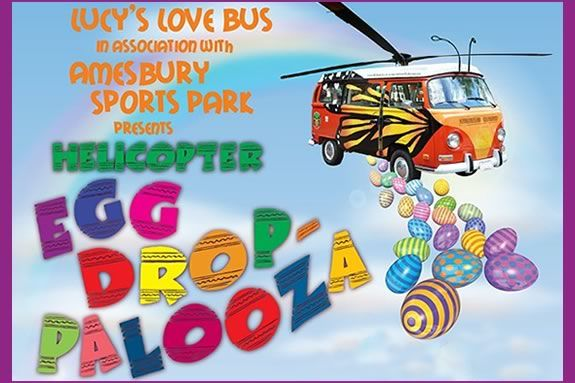 Helicopters and Easter Egg Hunts collide at Egg Drop-Palooza in Amesbury!
