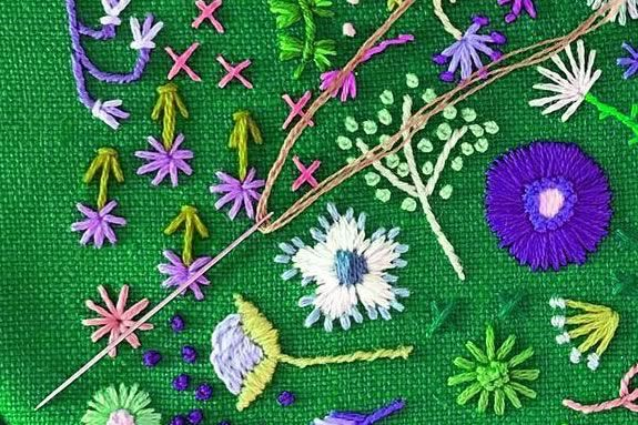 Kids will learn about the craft of Embroidery at the Salem Public Library