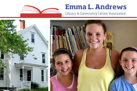 Emma Andrews Library in Newburyport MA. Programs for children, tweens, teens