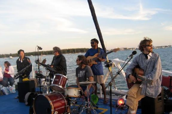Entrain brings rock funk jam music to the Newburyport Waterfront Park