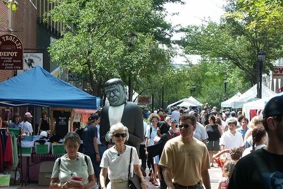 Take advantage of the Massachusetts Tax Holiday at the Essex Street Fair Salem!