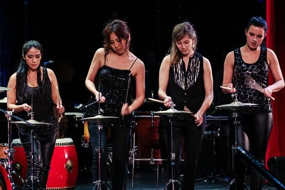The Excelsis Percussion Quartet will perform at Salem State University.
