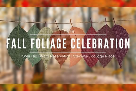 Come celebrate Fall at and the changing of colors at the Stevens Coolidge Place in North Andover!