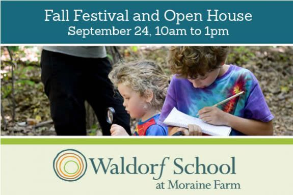 Waldorf School at Moraine Farm Fall Festival and Open House