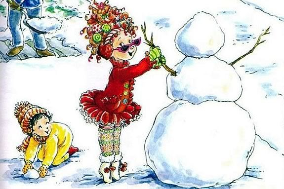Come celebrate the holidays Fancy Nancy Style at the Wenham Museum!