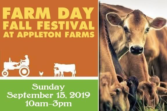 Appleton Farm's Farm Day Fall Festival will have lots of fun, food and live music in Ipswich Massachusetts!