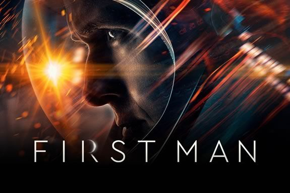 Movie Night at Manchester Public Library features 'First Man'.