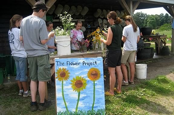 Appleton Farms is looking for teen volunteers to help with the Flower Project!