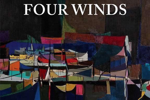 Albert Alcalay (1917-2008), Night Fleet (detail), 1956. Oil on canvas.