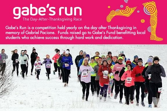 Gabes Run - The day after Thanksgiving race to benefit local high school students