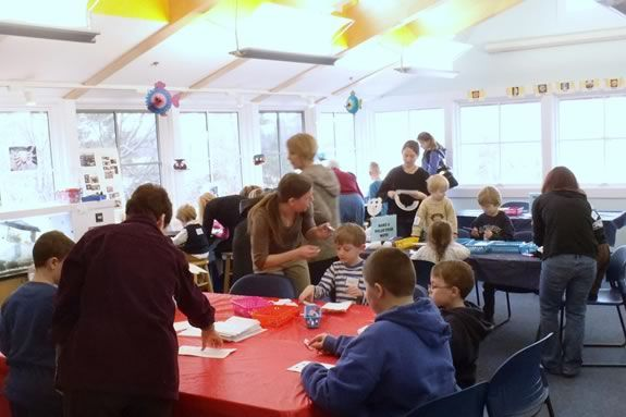 Lots of fun activities are part of every Fly-by at Joppa Flats Education Center!