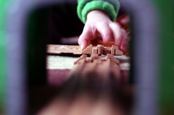 Enjoy a room-sized geotrax train set for one weekend only at the Wenham Museum