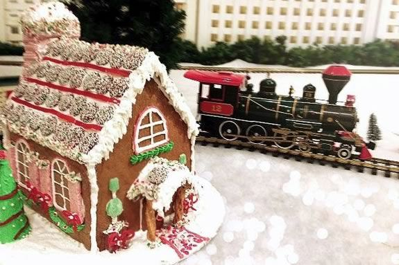 Wenham Museum Gingerbread Contest and Gingerbread Express Display