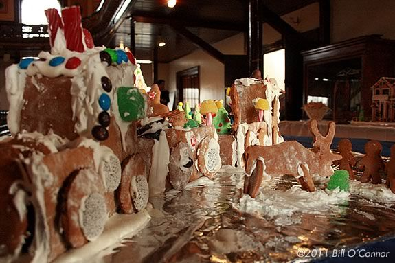 Middle Street Walk Gingerbread Contest entries can take any shape.