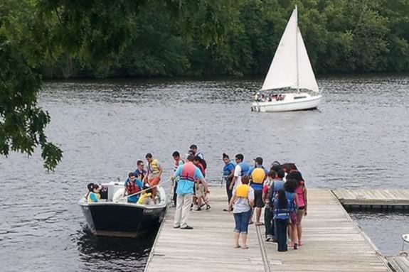 Mass DCR offers free boat tours on the Merrimack River in Lawerence, MA!