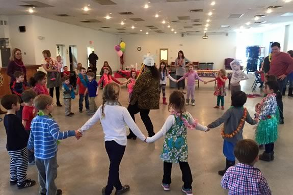 Greater Newburyport Mothers and Families Club Pizza and Play Night