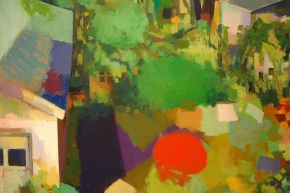 Gordon College Art Gallery Exhibit: Tim Harney, Paintings and Collages