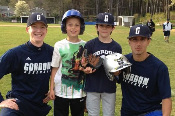 Gordon College Kids ClubJoin the Gordon College Baseball team for a free baseba