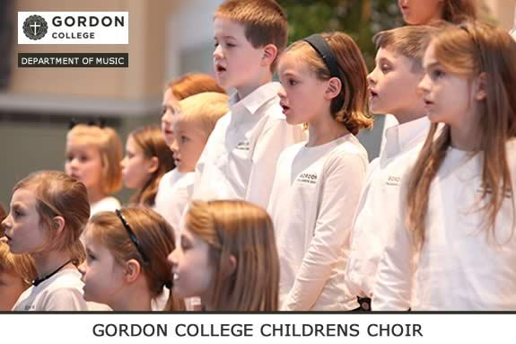 Gordon College Children's Choir – Fall 2013 Enrollment Underway
