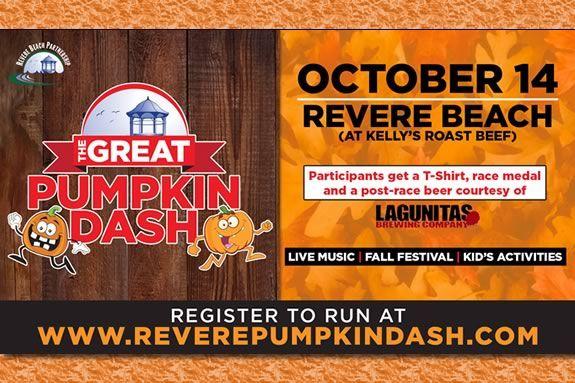 Great Pumpkin Dash 5k and Fall Festival at Revere Beach