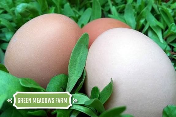 Green Meadows Farm has the freshest Easter Eggs around!