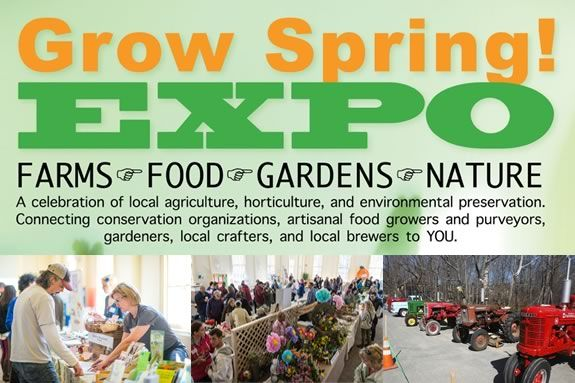 The fourth annual Grow Spring! Expo, a celebration of local agriculture, horticulture, and environmental preservation, returns to Topsfield
