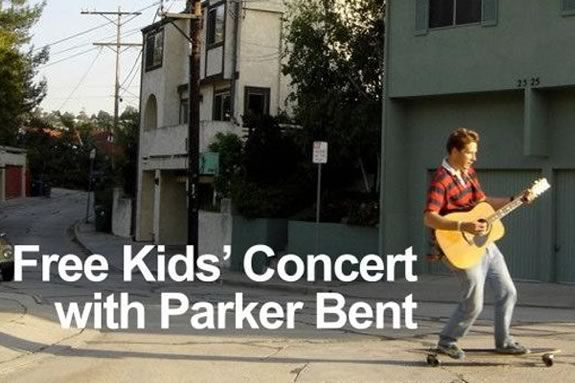 Come to Glen Urquhart School in Beverly Massachusetts for a kids' concert with Parker Bent