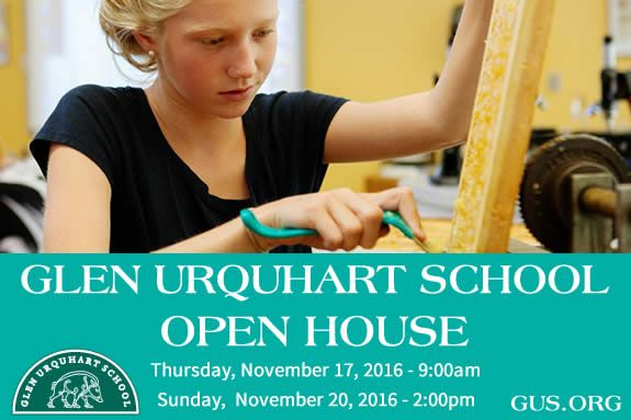 Glen Urquhart GUS Admissions Open House 2016 Best Education North Shore Children