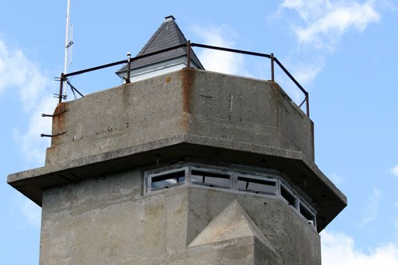 Tour the WWII era observation tower at Halibut Point State Park.