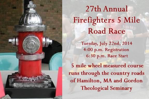 The Annual Firefighters Roadrace has a kids <16 category and prizes.