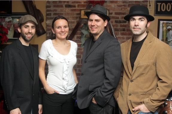 The Heather Pierson Quartet, December 12 performs A Charlie Brown Christmas at the Old Sloop Coffee House in Rockport Ma