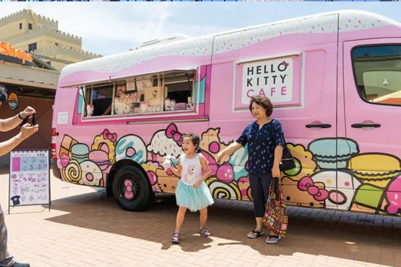Hello Kitty Cafe Truck Boston