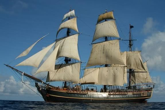 The HMS Bounty wiil be in Newburyport Friday, July 13 - Sunday, July 15