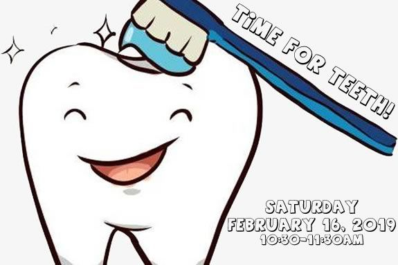 Kids will learn about dental health and dentistry at the Hamilton Wenham Puublci Library!