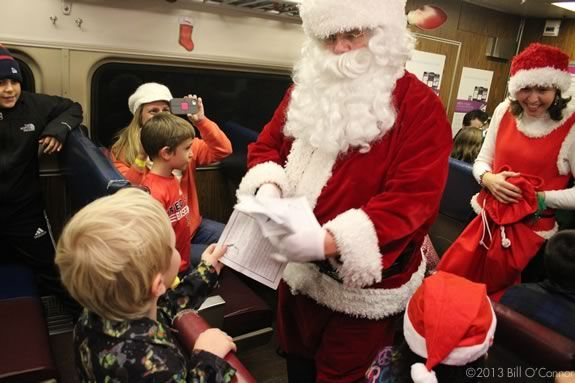 The ICS North Pole Express is a great holiday adventure for kids and families!