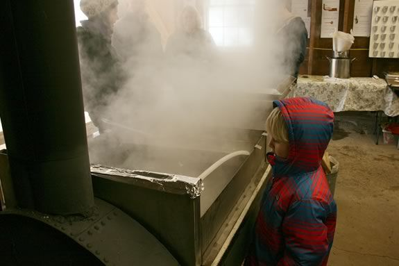Visit Appleton Farms' sugaring operation and experience a New England tradition