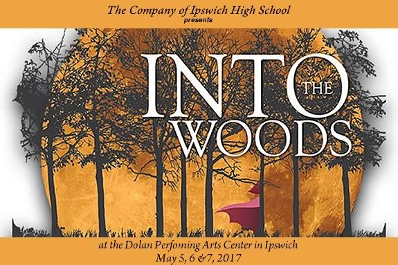 The Company of Ipswich High School presents Into the Woods at Ipswich Performing Arts Center in Ipswich Massachusetts!