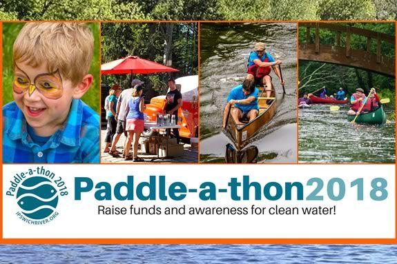 Ipswich River Watershed Association Paddle-a-thon is a fun day on the Ipswich River for the whole family!