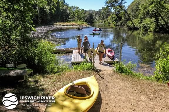 Ipswich River Watershed Association annual dock opening
