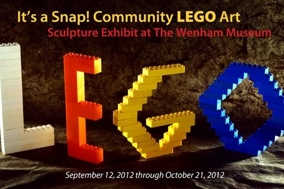 Celebrate Community Creativity with LEGOs at Wenham Museum's LEGO Exhibit!