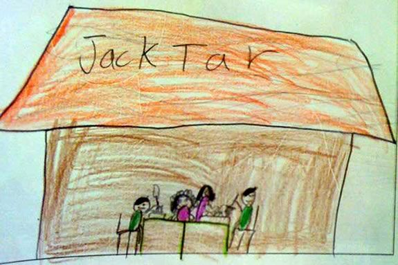 Eat a great meal at Jack Tar's and your kid eats free!