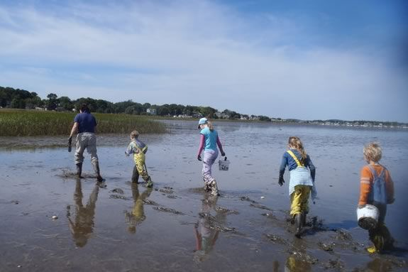 What lives in the tidal mud? Kids will learn about it at Joppa Flats Education C