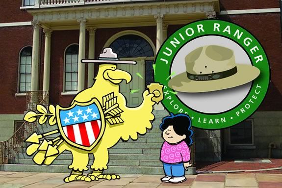 Become a Junior Ranger at Salem Maritime or Saugus Iron Works!