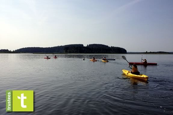 Take a guided kayak paddle to Choate Island with the Trustees of Reservations!