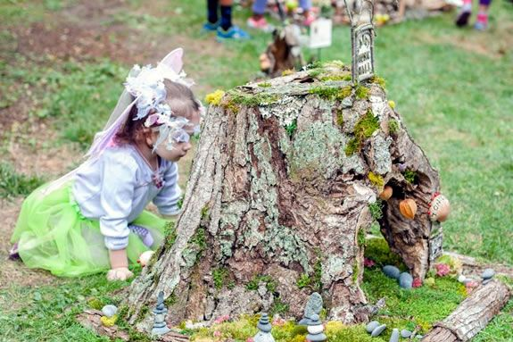 The Friends of the South End Portsmouth Fairy House Tour--the world's largest fairy house tour