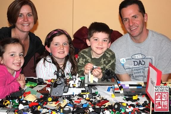 Pre Register for LEGOpalooza at Wenham Museum
