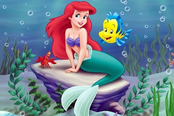 The Little Mermaid on the big screen at the Firehouse Center for the arts in Newburyport!
