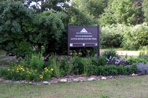 The Little River Nature Trail is managed by the Parker River Clean Water Associa