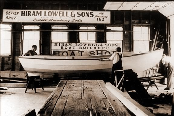 Learn about Lowell's Boat Shop on this guided Trails and Sails Tour