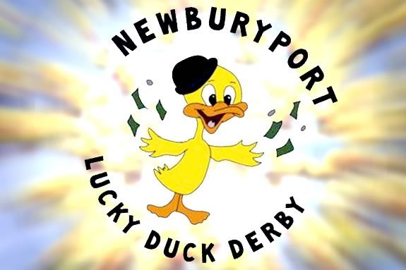 The Lucky Duck Derby, hosted by Newburyport Youth Services, is a family event